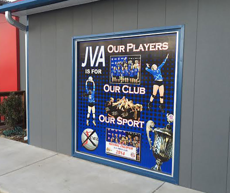 window and wall graphics, banners, and signs